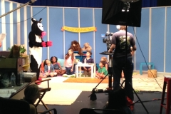 Mozzie Show filmed in our studio